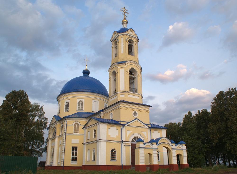 Церковь Успения, село Яромаска, Сарапульский район Удмуртской Республики