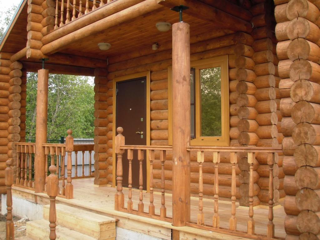 Террасы деревянных домов фото 63