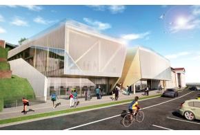 Проекты представленные на открытый конкурс «Концепция застройки административно-делового здания и здания кафе на набережной Ижевского пруда»