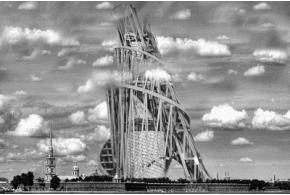 Архив: Памятник ІІІ Интернационала. Проект В.Е.Татлина. 1920