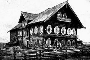 Дом Костиных в дер. Верховье (Великая Губа)