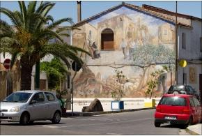 Муралес на улицах Сардинии