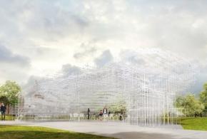 Архитектурный ландшафт Су Фудзимото в Кенсингтонских садах
