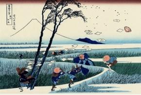 Японский художник анимировал классические гравюры укиё-э