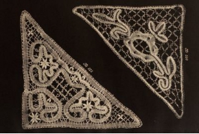 Альбом плетеных кружев. Районы: Вологодский, Елецкий, Рязанский. 1928