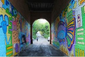 В Ижевске завершился 1-й этап фестиваля стрит-арта «Мир Многих Миров»