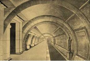 Колли Н. Я. Архитектура московского метро. 1936