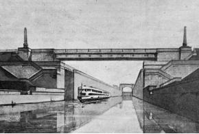 Архитектура сооружений Волгостроя. 1939
