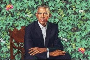Официальные портреты Барака и Мишель Обамы для Национальной портретной галереи