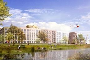 Архитектурное бюро Speech представило проект нового микрорайона в Ижевске