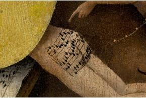 Три версии расшифровки нотной записи с ягодиц грешника на картине Иеронима Босха
