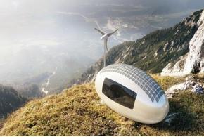 Экокапсула: мобильный автономный дом, разработанный словацкими архитекторами