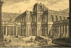Prima parte di architetture, e prospettive inventate, ed incise da Giambatista Piranesi. 1743