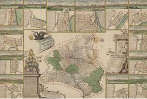 Генеральная карта Вятской губернии с планами и видами городов. 1806