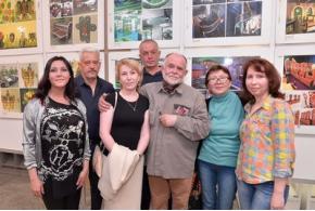 «Genna Galanin»: фотоотчёт с открытия выставки Геннадия Алексеевича Галанина
