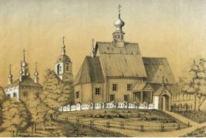 И. А. Голышев. Старинные деревянные храмы Владимирской губернии. 1879