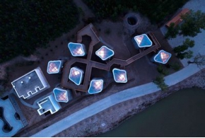 Ретрит-комплекс Grotto Retreat Xiyaotou в провинции Хэбэй КНР
