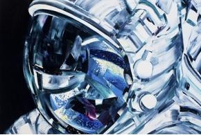 Освоение космического пространства на картинах Майкла Кагана
