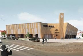Проекты нового торгового центра на улице Черняховского в Калининграде