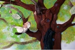 «Деревья и птицы»: выставка архитектурной студии «Караколь»