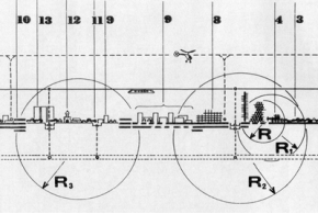 А. Иконников, К. Пчельников. Кинетическая система расселения. 1973