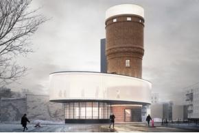 Итоги конкурса концепций редевелопмента водонапорной башни в Москве