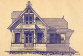 Архитектор А. Н. Козлов. Проекты дач, загородных деревянных домов и хозяйственных построек. 1902