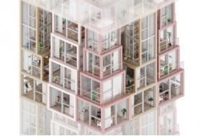 Концепции вертикального развития многоэтажных жилых домов для Гонконга