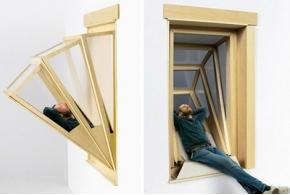 «Добавленное небо»: объёмные окна-трансформеры Алданы Гарсия