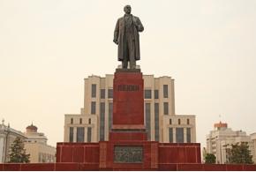 Гегелло А. И. Памятник В. И. Ленину в Казани