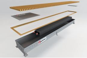 Внутрипольные конвекторы отопления дадут простор для дизайнерских решений