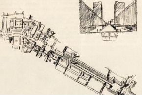 В. В. Кратюк, H. X. Поляков. Архитектурно-пространственная организация улицы. 1936