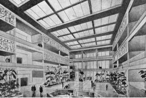 М. Г. Бархин. Архитектура культурно-бытовой группы завода. 1936