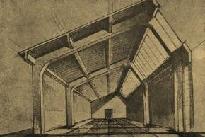 А. Д. Чаплыгин. Архитектурно-конструктивные свойства железобетонных рамных конструкций. 1936