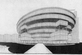 Л. Комарова. К проекту здания Коминтерна. 1929