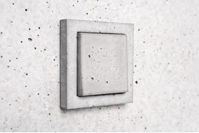 Sekhina: выключатели и розетки из бетона