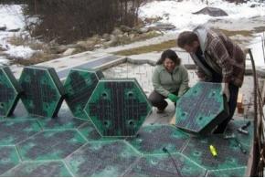 Solar Roadways — дорожное полотно с солнечными батареями и светодиодами