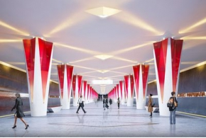 Конкурсные проекты архитектурного облика станции «Проспект Маршала Жукова»