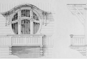 Владимир Стори. Окна и двери. 1915