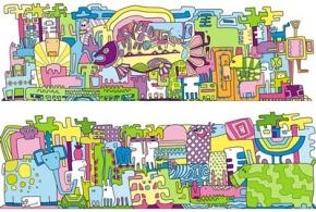 Этнический фестиваль стрит-арта «Мир Многих Миров» в Ижевске
