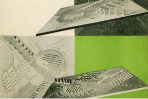 Н. Ладовский. Проект планировки трудкоммуны «Костино». 1929