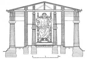 Сооружения 2-й четверти V в. до н. э. вне Афин