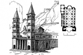 Средневековая архитектура Словении, Хорватии, Зетского Приморья, Воеводины