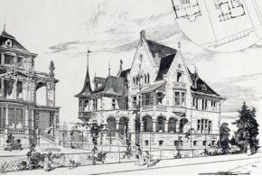 Современный стиль. 20 проектов загородных домов, вестибюлей, беседок и ворот. 1914