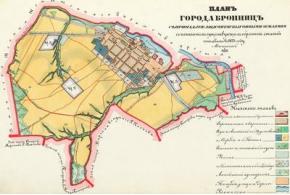 Тодт. Планы на уездные города и посады Московской губернии. 1873