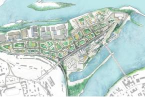 Концепции перспективного развития территории «Затон» в Иркутске
