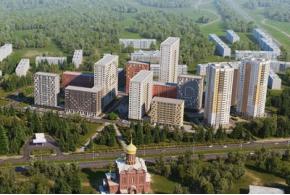Конкурсные проекты ЖК «Покровский» в Ижевске: проект под девизом 080988