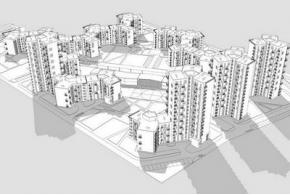 Конкурсные проекты ЖК «Покровский» в Ижевске: проект под девизом 110458