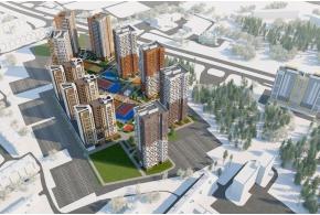 Конкурсные проекты ЖК «Покровский» в Ижевске: проект под девизом 202438