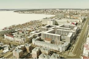 Все конкурсные проекты жилого комплекса «Красная площадь» в Ижевске